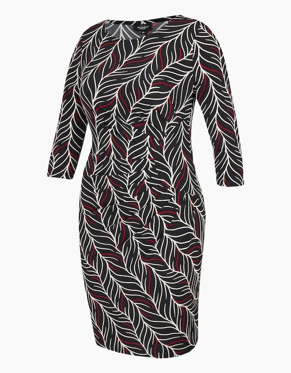 Bexleys woman Jerseykleid mit Druck und Rubber-Print | [ADLER Mode]