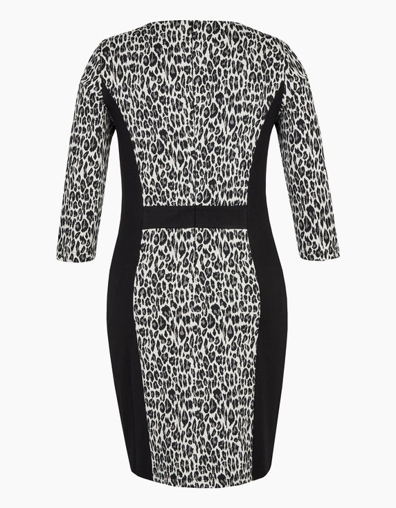 Bexleys woman Kleid im Material-Mix aus Jacquard- und Romanit-Jersey | [ADLER Mode]