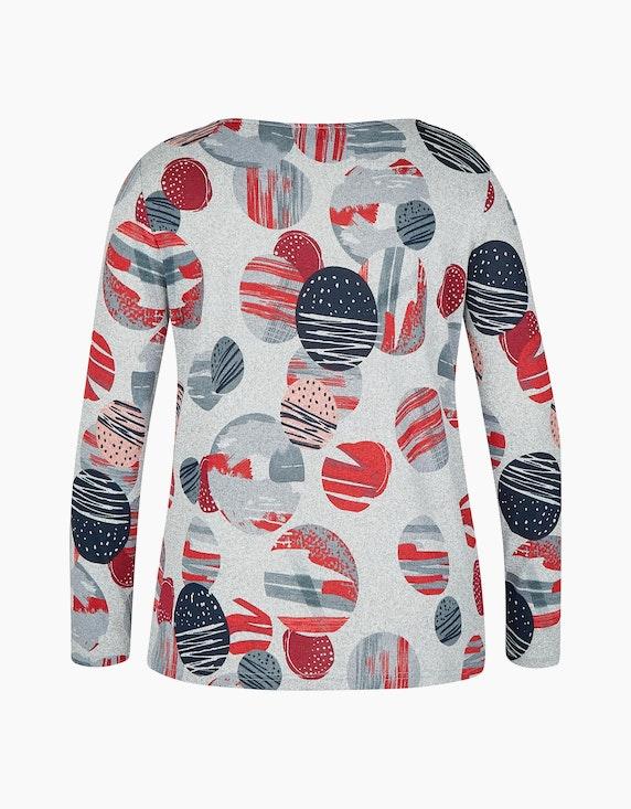 Bexleys woman Langarmshirt mit modischem Print | [ADLER Mode]