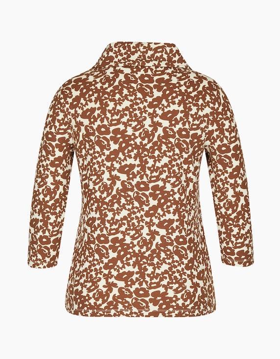 Bexleys woman Shirt mit Rollkragen und 3/4-Arm | [ADLER Mode]