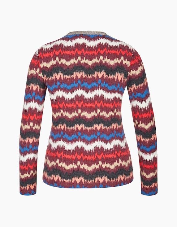 Bexleys woman Langarmshirt mit Glitzer-Ausschnitt | [ADLER Mode]
