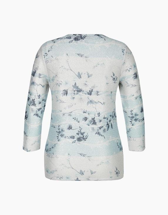 Bexleys woman Shirt mit Glitzereffekt und Mustermix | [ADLER Mode]
