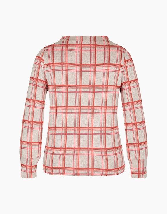 Bexleys woman Shirt mit Struktur uns ausgefallenem Karo-Druck | [ADLER Mode]