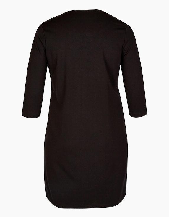 VIA APPIA DUE Kleid mit Galonstreifen | [ADLER Mode]