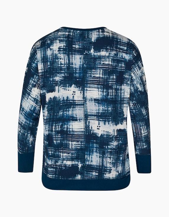 No Secret bedrucktes Langarmshirt mit Paillettenbesatz | [ADLER Mode]