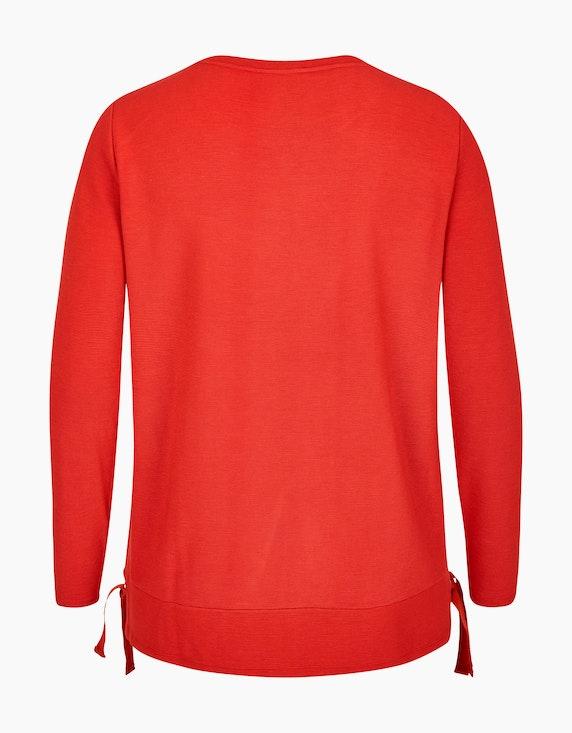 No Secret Sweatshirt in feiner Streifenstruktur | [ADLER Mode]