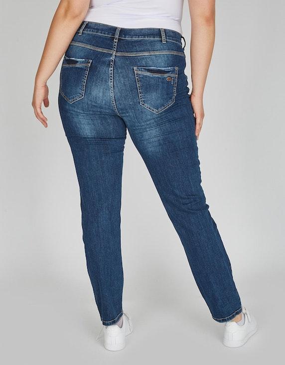 No Secret modische 5-Pocket-Jeans in verwaschener Optik | [ADLER Mode]