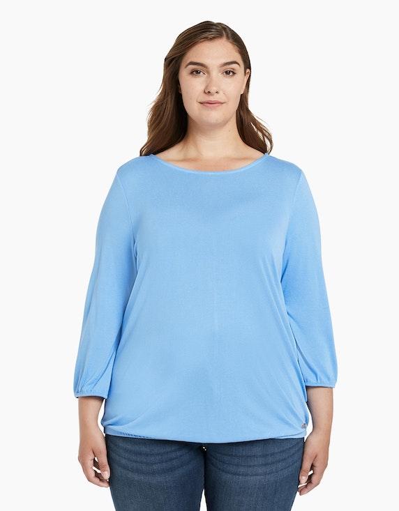 My True Me Shirt mit Zierknopfleiste | [ADLER Mode]
