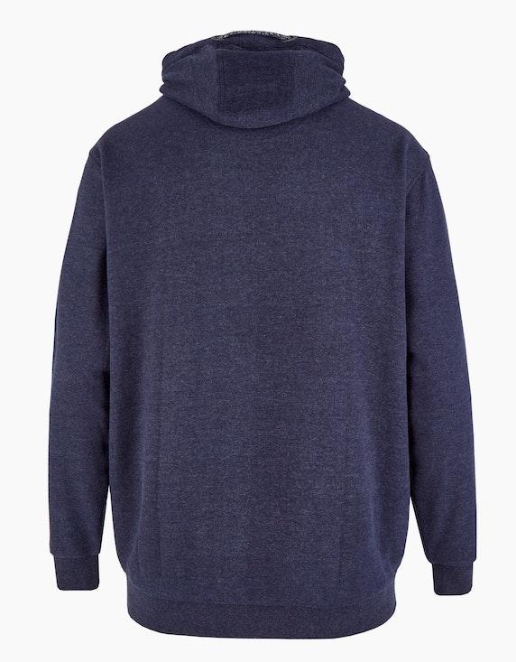 Big Fashion Kapuzen-Sweatshirt mit großem Frontdruck   [ADLER Mode]