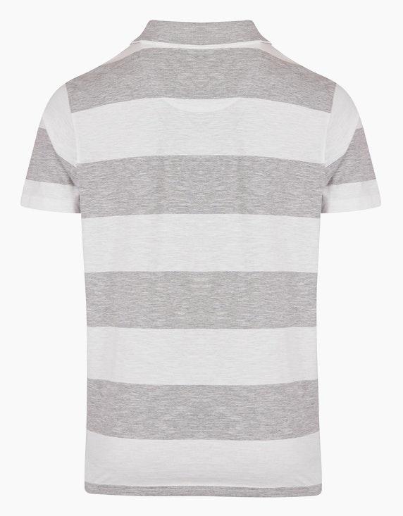 Bexleys man Polo-Shirt gestreift   [ADLER Mode]