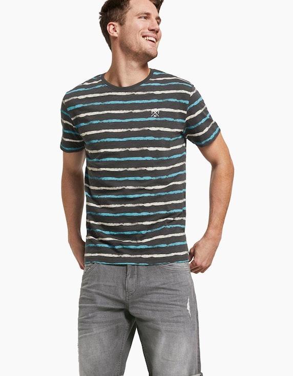 Tom Tailor gestreiftes T-Shirt | [ADLER Mode]