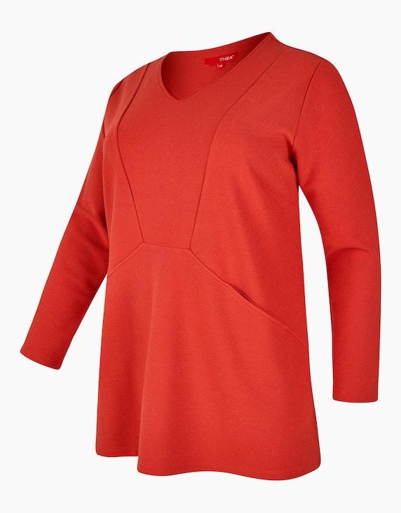 Thea Sweatshirt mit Streifenstruktur | [ADLER Mode]