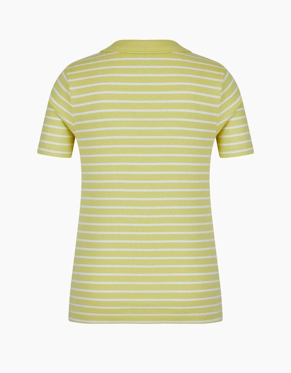 Bexleys woman gestreiftes kurzarm Poloshirt aus Organic Cotton | [ADLER Mode]
