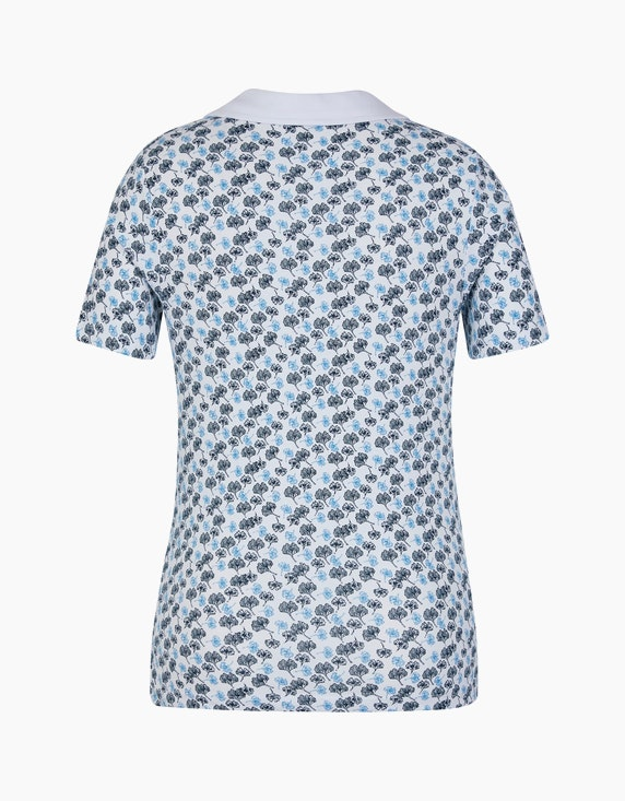 Bexleys woman T-Shirt mit Gingko-Druck | [ADLER Mode]