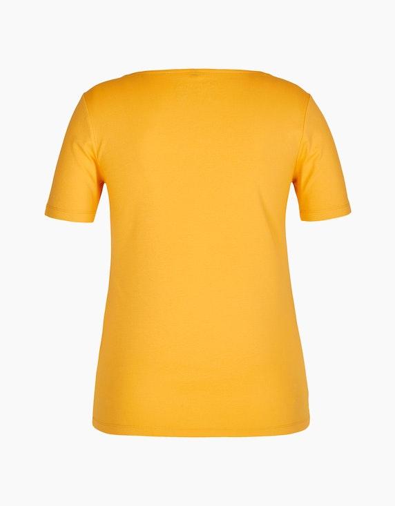 Bexleys woman Unifarbenes Shirt mit Trapez-Ausschnitt | [ADLER Mode]