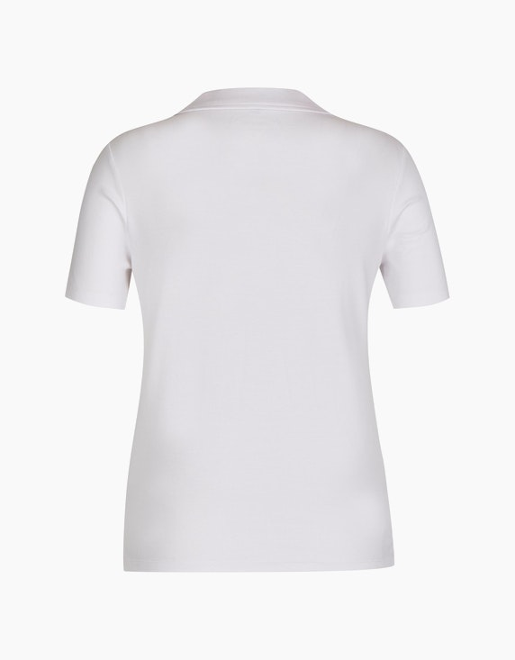 Bexleys woman Shirt im zeitlosen Polo-Stil aus Organic Cotton | [ADLER Mode]