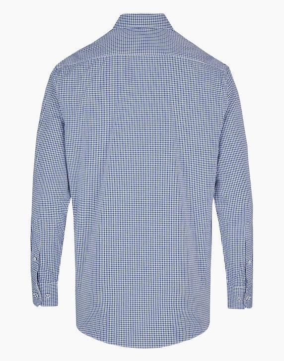 Bexleys man Freizeithemd im Vichy-Karo und Stickerei, MODERN FIT   [ADLER Mode]