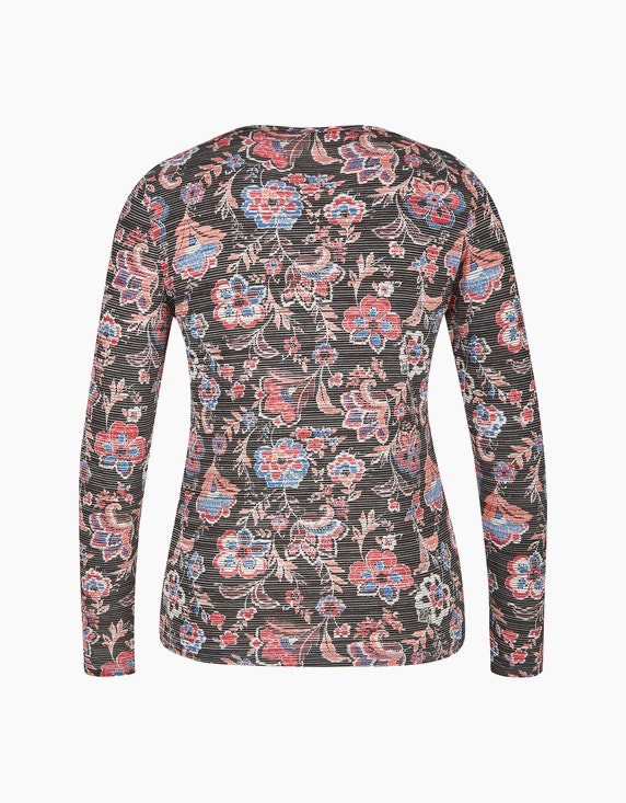 Bexleys woman Langarmshirt mit floralem Druck | [ADLER Mode]