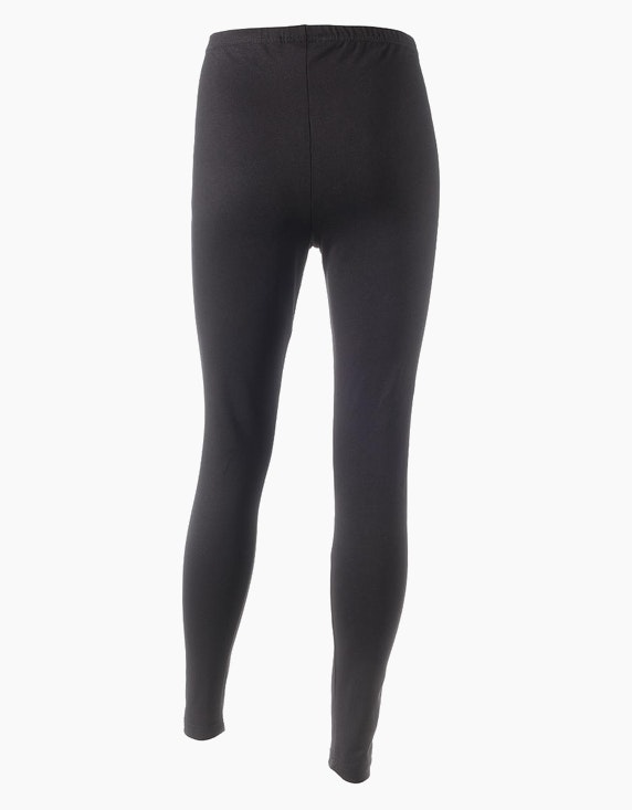 Fit&More Basic-Leggings einfarbig | [ADLER Mode]