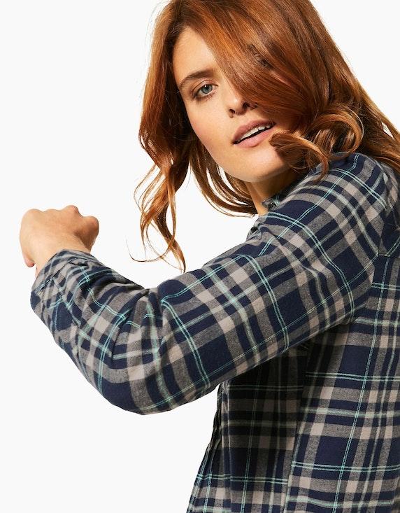 CECIL Hemdbluse mit Karo-Muster, reine Baumwolle | [ADLER Mode]