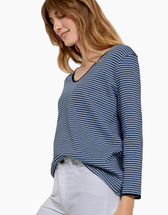 Tom Tailor Shirt mit Struktur-Streifen | [ADLER Mode]