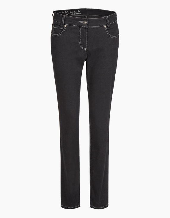 "Steilmann Woman Powerstretch-Hose ""Pamela"" in Schwarz 