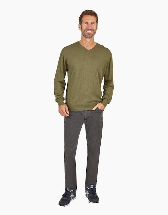 Bexleys man Cotton-Silk-Cashmere Strickpullover | [ADLER Mode]