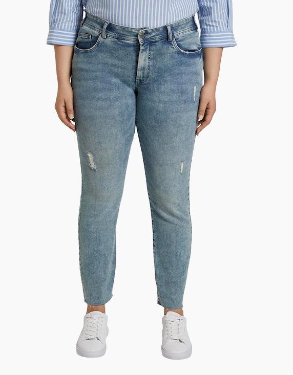 My True Me Jeans im Used-Look | [ADLER Mode]