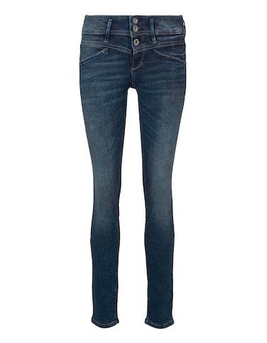 Hosen - Jeans Alexa Slim mit verspielten Details, 33 30  - Onlineshop Adler