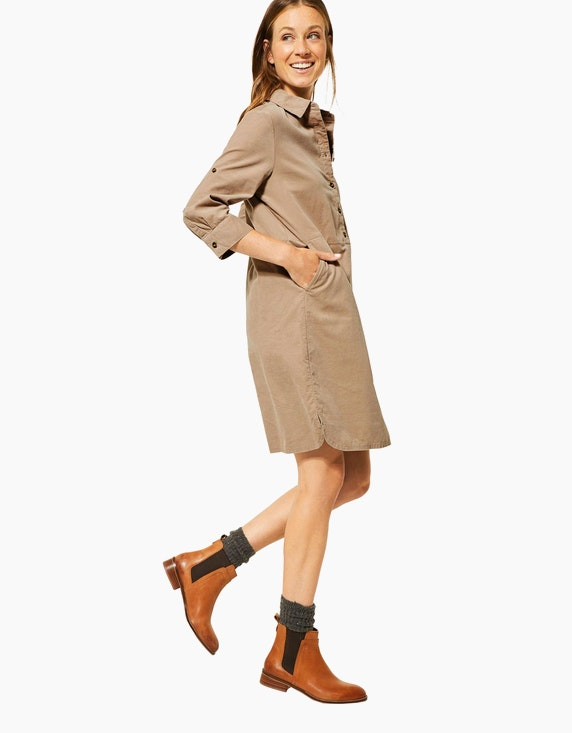 CECIL Cord-Kleid mit Knopfleiste | [ADLER Mode]