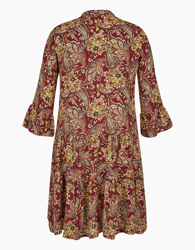 Stufenkleid mit Paisley-Muster in  - MADE IN ITALY articleID: 14032 colorID: 15548