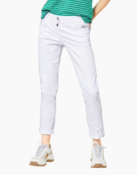 CECIL Colour Denim-Hose, 5-Pocket-Style, Hailey | ADLER Mode Onlineshop