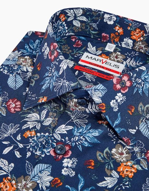 Marvelis Floral gemustertes Dresshemd, MODERN FIT | ADLER Mode Onlineshop