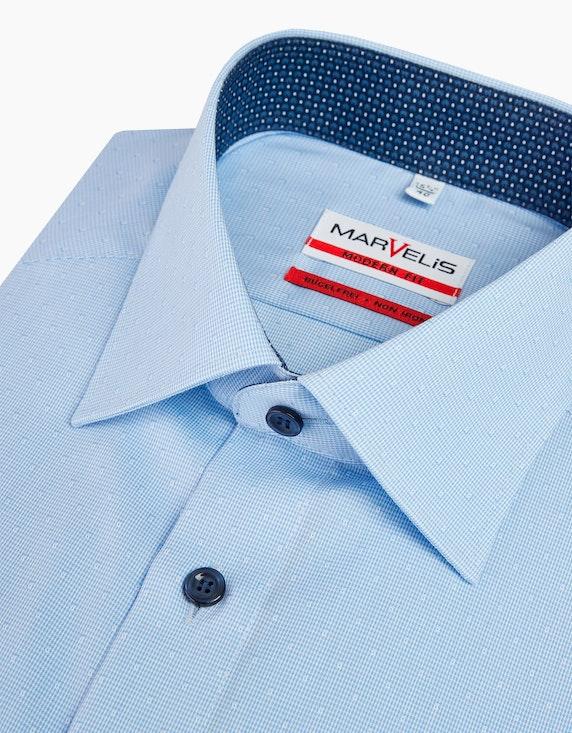 Marvelis Unifarbenes Dresshemd, MODERN FIT | ADLER Mode Onlineshop