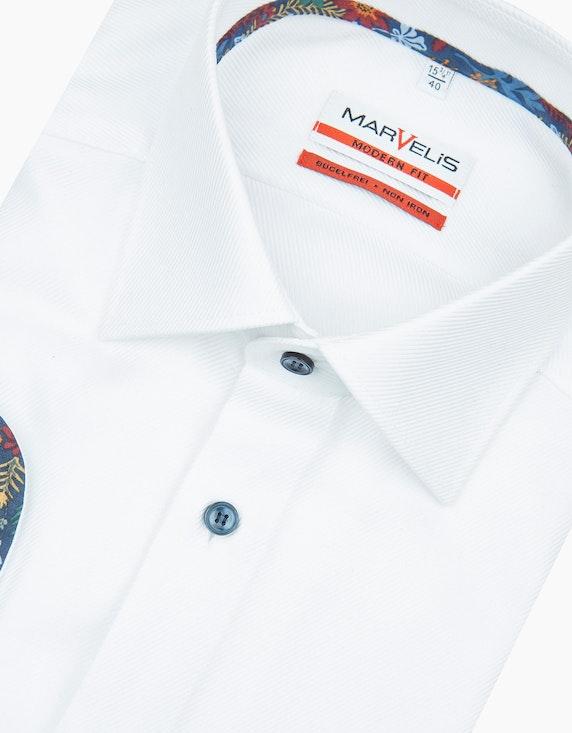 Marvelis Dresshemd mit Besatz-Details, MODERN FIT | ADLER Mode Onlineshop
