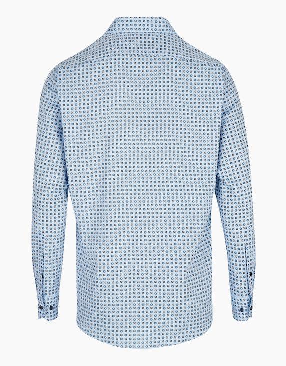 Marvelis Modisch bedrucktes Freizeithemd mit langen Ärmeln, MODERN FIT   ADLER Mode Onlineshop