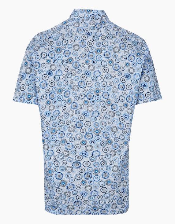 Marvelis Dresshemd, kurzarm, gemustert, MODERN FIT | ADLER Mode Onlineshop