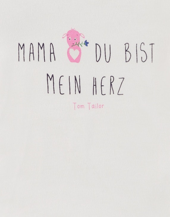 Tom Tailor Baby Girls Shirt mit Front-Print | ADLER Mode Onlineshop