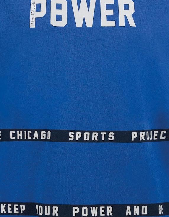 Tom Tailor Boys Statement-Shirt mit langen Ärmeln | ADLER Mode Onlineshop