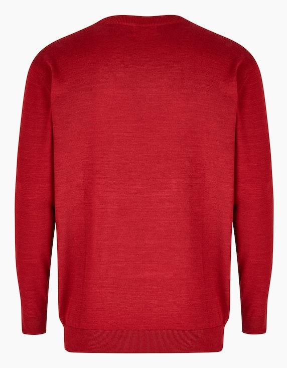 Big Fashion klassischer Pullover mit V-Ausschnitt   ADLER Mode Onlineshop