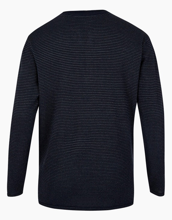 Big Fashion Strickpullover mit feinen Streifen   ADLER Mode Onlineshop