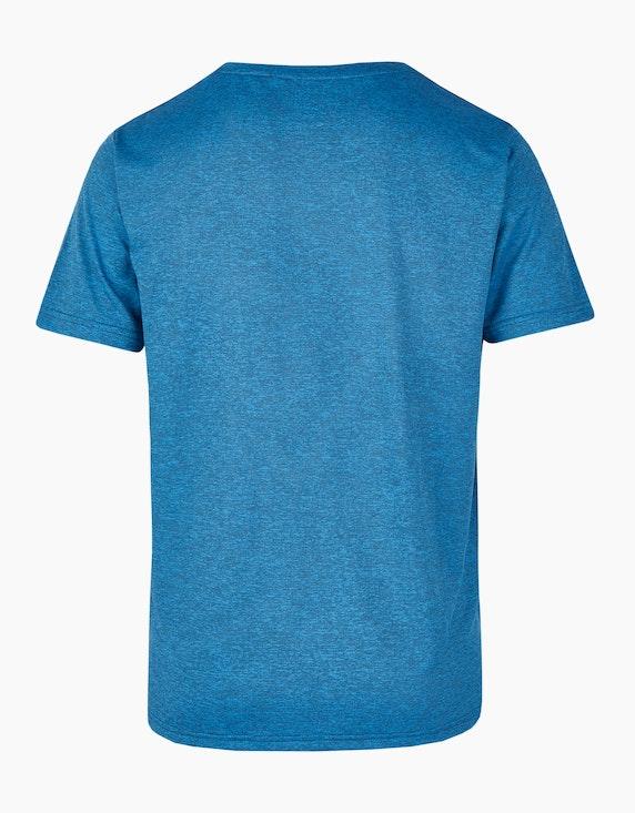 Fit&More Einfarbiges Trainings-T-Shirt | ADLER Mode Onlineshop