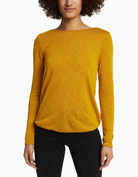 Esprit Meliertes Langarmshirt   ADLER Mode Onlineshop