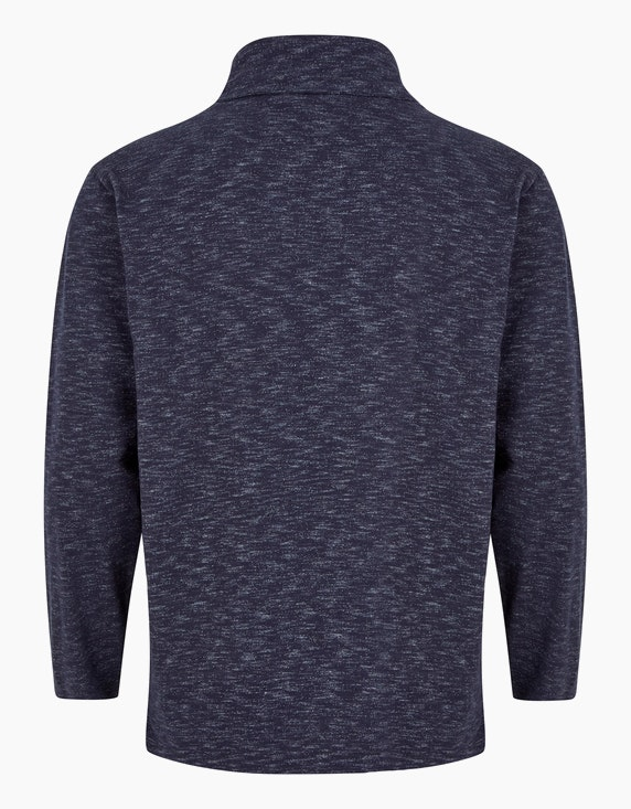 Big Fashion Meliertes Sweatshirt mit Turtleneck | ADLER Mode Onlineshop