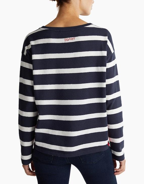 Esprit Langarmshirt mit Streifen   ADLER Mode Onlineshop
