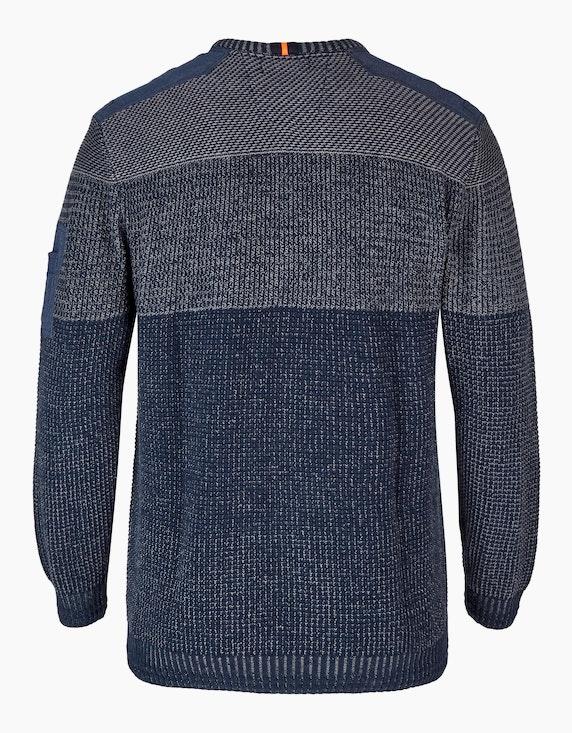 Big Fashion Strickpullover mit Blockstreifen   ADLER Mode Onlineshop