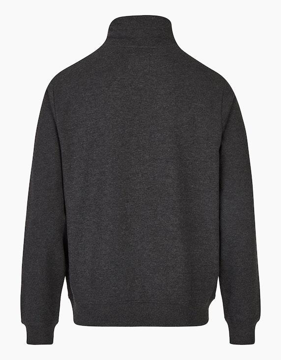 Eagle Denim Sweatshirt mit Stehkragen   ADLER Mode Onlineshop