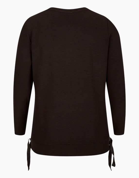No Secret Sweatshirt in feiner Streifenstruktur | ADLER Mode Onlineshop