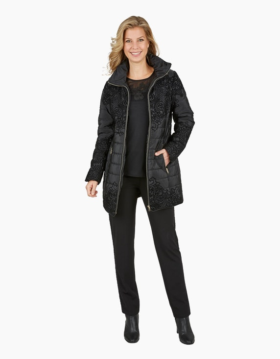 Bexleys woman Jacke mit Flockprint | ADLER Mode Onlineshop