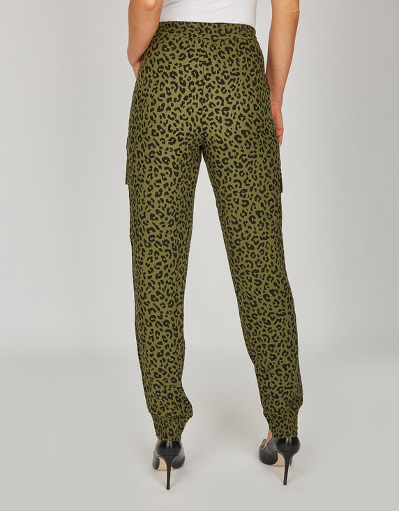 Bexleys woman Palazzo-Hose im Leo-Look | ADLER Mode Onlineshop
